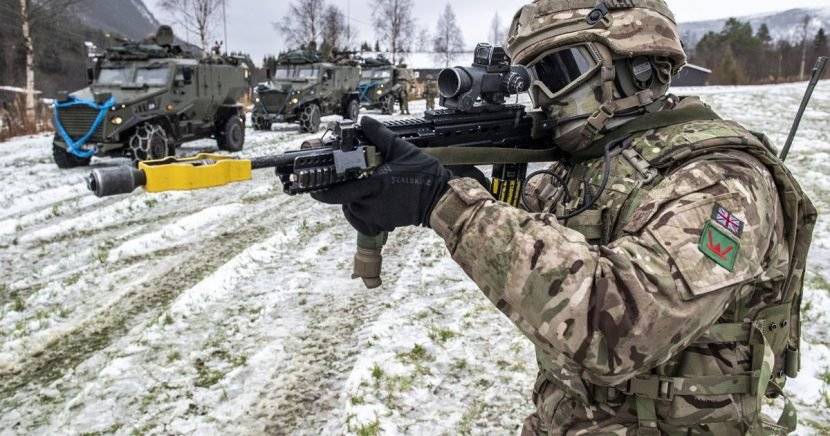 Armies from 31 countries take part in huge war game amid rising Russia tension