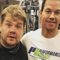 James Corden takes on Mark Wahlberg's brutal workout schedule