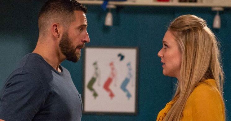 Ross and Rebecca face devastating split as she refuses to leave Emmerdale
