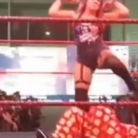 Shocking footage emerges as wrestler brutally body slams popular actress