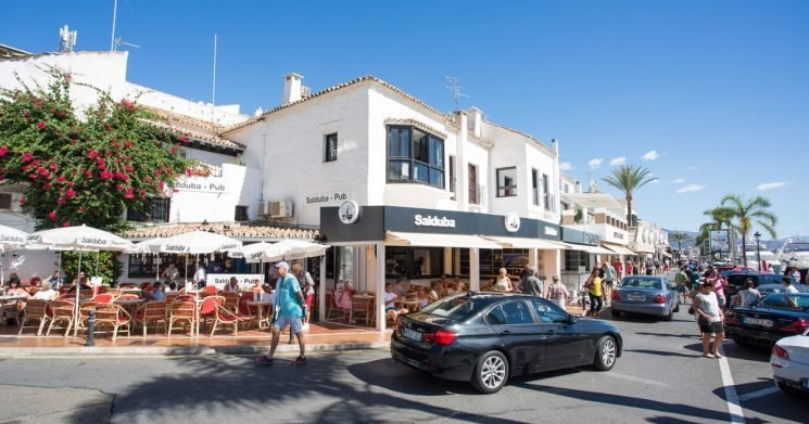 Brit schoolboy dies after falling from roof of Costa del Sol shopping centre