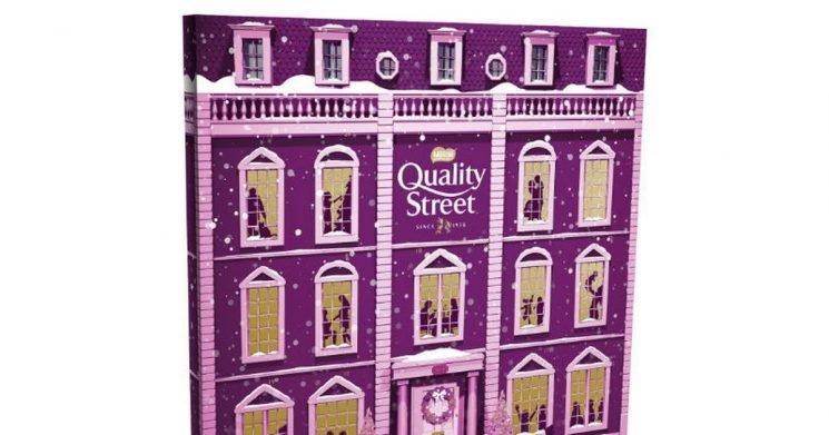 How to get a Quality Street Christmas advent calendar for free