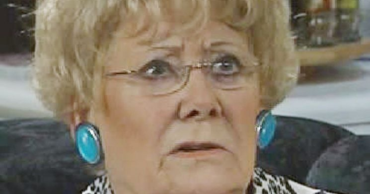 Corrie outrage as Vera Duckworth's memory soiled by thieving Evelyn Plummer