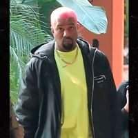 Kanye West Shows Off Red Hair in Midst of Shooting and Wildfire Scare