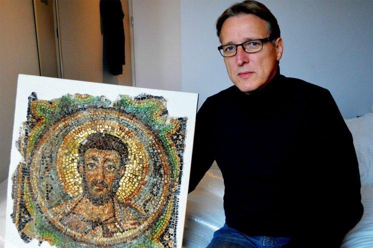 'Indiana Jones of art world' recovers stolen 1,600-year-old mosaic