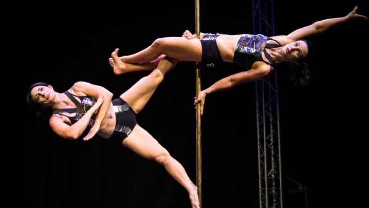 Two of Us: The pole dancing champions propping each other up in life