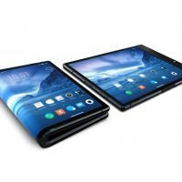 A foldable smartphone already exists