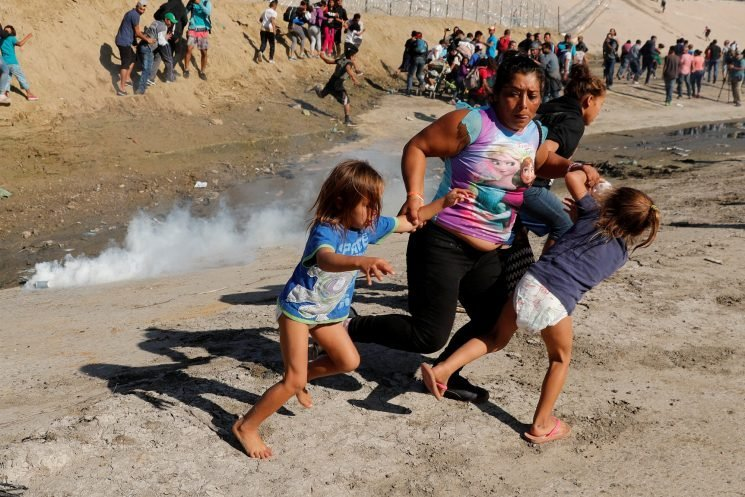 Immigrant mom never thought she'd have to pull children away from tear gas