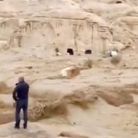 Thousands of tourists evacuated from Petra after to flooding in historic city