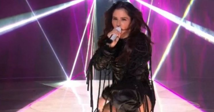 X Factor fans disgusted by Cheryl's X-Rated performance and 'awful' vocals