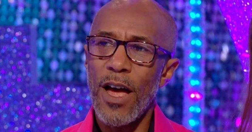 Strictly's Danny John Jules looks tense as he admits his shocking Samba training