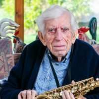 Nazi prison camp survivor, 100, tells how his life was saved by his music band