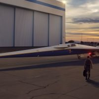 Lockheed Martin starts build of supersonic plane that's as quiet as car door