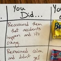 Mum makes reward chart with chocolate prizes – and one big twist parents love