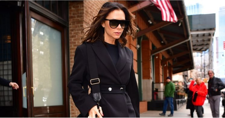 The Detail on Victoria Beckham's Pants Will Definitely Make You Do a Double Take