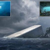 Completion nears on Europe's first underwater restaurant
