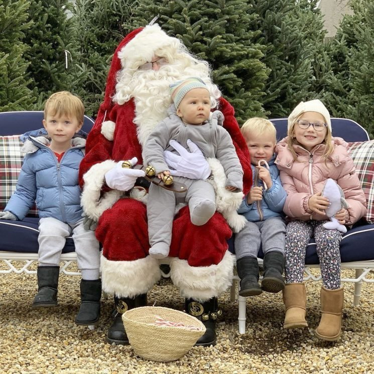 Santa Claus Has Come to Town! See Which Celeb Kids Are Visiting the Big Guy This Season
