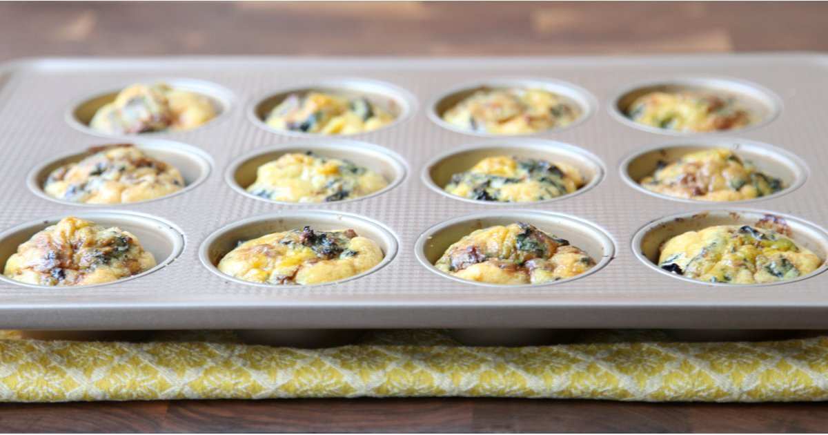 Brunch In A Breeze: Grab-and-Go Egg Muffins Make Breakfast A Breeze