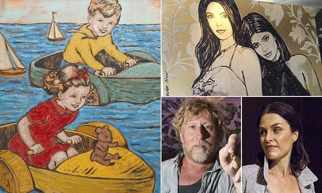 Ex-wife of David Bromley sells off dozens of his artworks