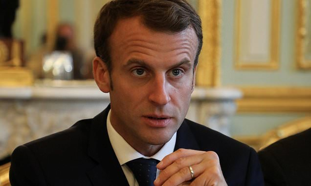 May lines up crunch summit with Macron as ministers mount Brexit push