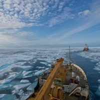 Scientists say Arctic ships should stick to 11.5mph
