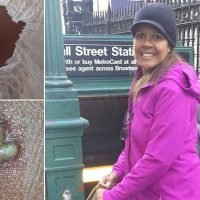 Mother-of-one was bitten TEN times by 'a false widow spider'