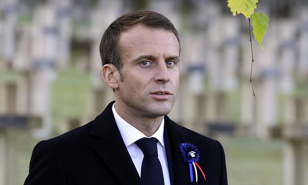 Macron calls for 'European army' to 'protect against China, Russia'