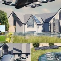World's first home with launch pad for FLYING car will be built in UK