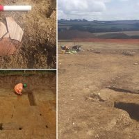 Roman town uncovered by archaeologists in Devon