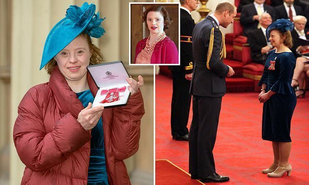 Call the Midwife star becomes first Down's Syndrome woman to get MBE