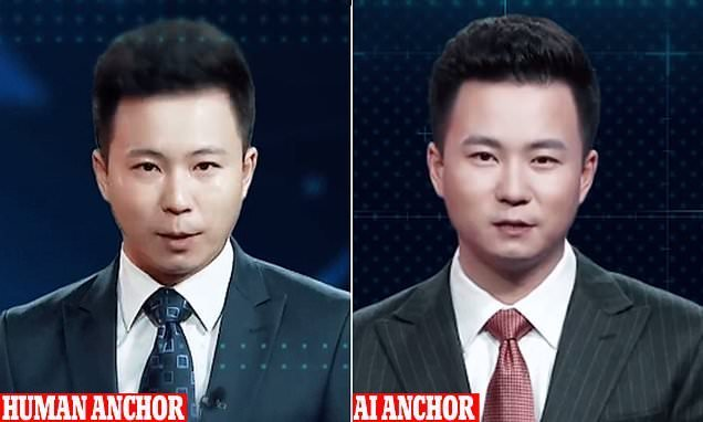 China unveils an uncanny AI anchor based on a popular newsreader