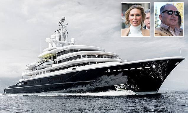 Russian billionaire in UK's biggest divorce wins right to £350m yacht
