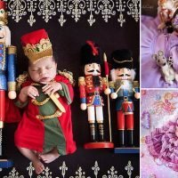 Photographer stages Nutcracker-themed photoshoot with babies