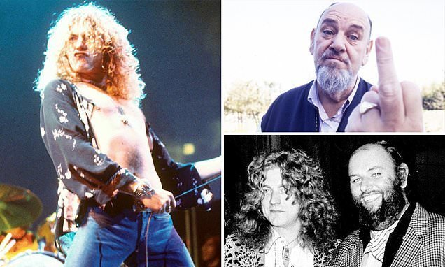 Led Zepplin's manager, a former bouncer, made them look tame