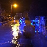 Flood chaos leaves thousands without power and homes under water