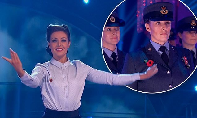 Strictly: Fans in tears over moving tribute to female RAF veterans