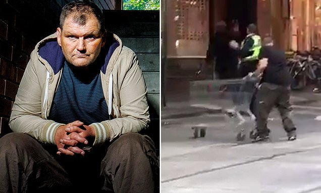 Homeless hero Trolleyman's past revealed after Bourke St terror attack