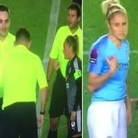 Referee makes captains play rock, paper, scissors to decide kick-off