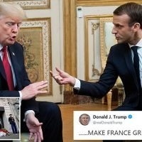 French government criticises Trump for his stinging attack on Macron