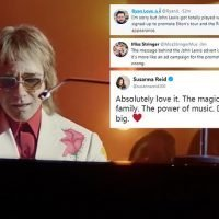John Lewis divides fans with 'not very Christmassy' Elton John advert