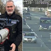 Camera can spot drivers using mobile phones nearly a mile away