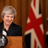 Almost half of Britain's voters want Theresa May to stay on as PM