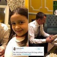 Jeremy Hunt meets daughter of British mother held in Iran