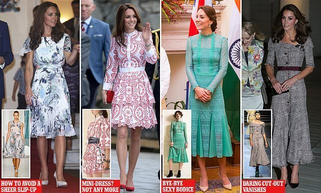 How the duchess gets top designers to tweak her outfits just for her