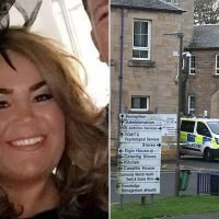 Pictured: NHS worker, 42, who was stabbed by patient in Ayr