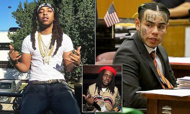 Tekashi69 appears to order hit on Chief Keef's cousin