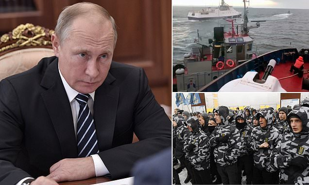 Putin 'seriously concerned' about Ukraine's martial law decision