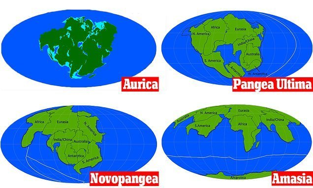 What Earth might look like in 200m years with new supercontinents