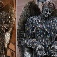 'Knife Angel' made from 100,000 confiscated blades to go on display