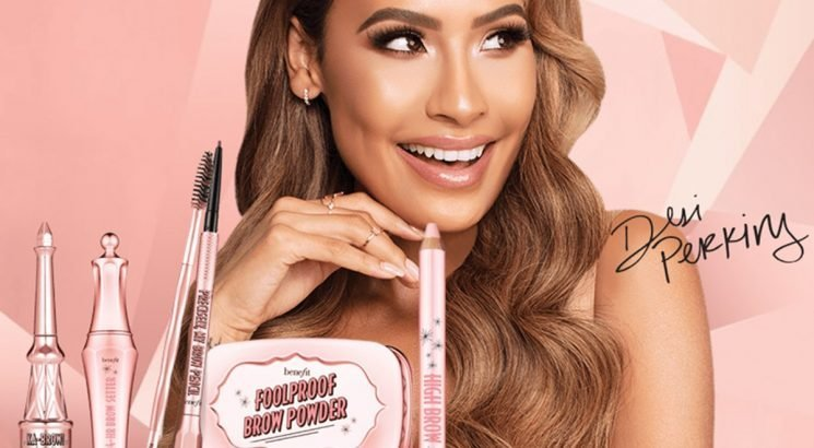 The Benefit x Desi Perkins Brow Kit Includes Eyebrow Essentials In Chic Rose Gold Packaging